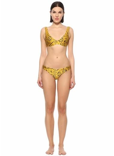 Zimmermann Zimmermann Lulu  Desenli Bikini Takımı 101598450 Sarı